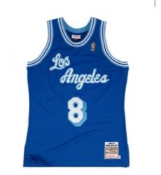 Los Angeles Lakers #8 Kobe Bryant Blue NBA Swingman Hardwood Classics Jersey