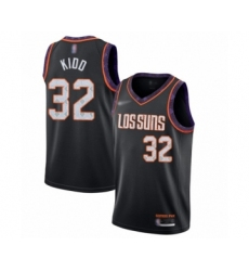 Men's Phoenix Suns #32 Jason Kidd Swingman Black Basketball Jersey - 2019 20 City Edition