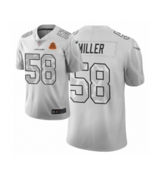 Men's Denver Broncos #58 Von Miller Limited White City Edition Football Jersey