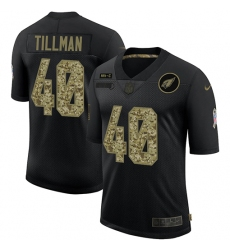 Men's Arizona Cardinals #40 Pat Tillman Camo 2020 Salute To Service Limited Jersey