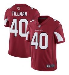 Men's Nike Arizona Cardinals #40 Pat Tillman Red Team Color Vapor Untouchable Limited Player NFL Jersey