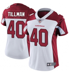 Women's Nike Arizona Cardinals #40 Pat Tillman White Vapor Untouchable Limited Player NFL Jersey