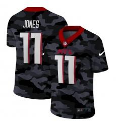 Men's Atlanta Falcons #11 Julio Jones Camo 2020 Nike Limited Jersey