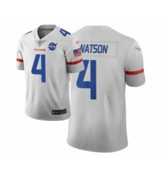 Youth Houston Texans #4 Deshaun Watson Limited White City Edition Football Jersey